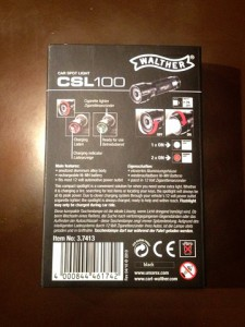 CSL100 ワルサーフラッシュライト