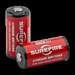 SUREFIRE(シュアファイア)のSF123Aリチウム電池の比較