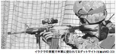 sd-30・ダットサイト