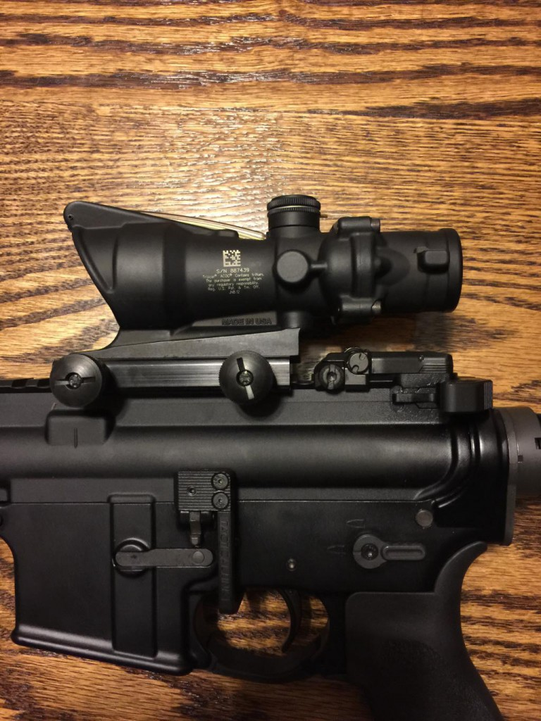 LaRue Tactical ACOG Mount QD LT100 評価