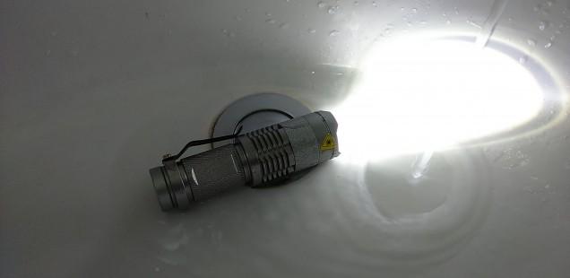 ULTRAFIRE・WANCHER・QREEQ5・SIPIKの防水性能