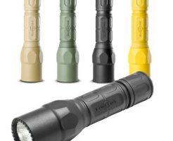 防災におすすめの懐中電灯(フラッシュライト):シュアファイア(surefire)+G2X-C-BK Tactical 320ルーメンモデル