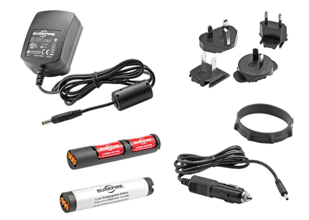 防災におすすめの懐中電灯(フラッシュライト):シュアファイア(surefire)+R1 LAWMAN 充電式 LEDフラッシュライト