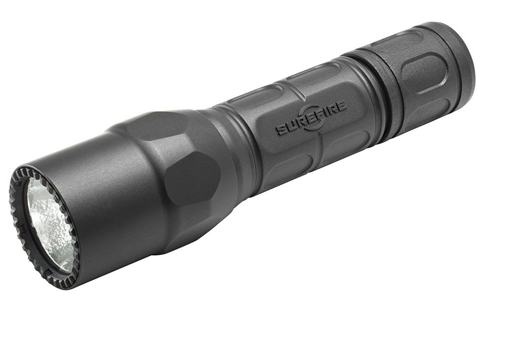 より使いやすい防災におすすめフラッシュライト(懐中電灯)G2X-D-BK Tactical